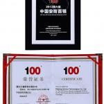 Locul 6 in Top 100 companii privind securitatea publica in China